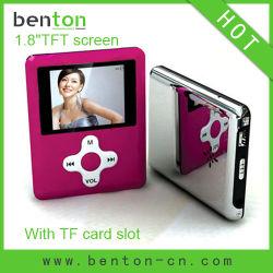 MP4 Media Player avec logement de carte mémoire (BT-P203C)