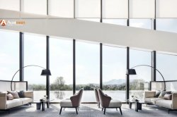 最小主義の北欧のソファーの創造的な居間の縦の床ランプの寝室ヘッド