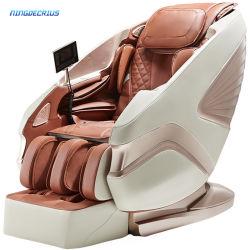 Ningdecrius 최고의 4D 무중력 풀 바디 SL 트랙 전기 럭셔리 오피스 3D 리클라이너 접이식 시아츠 저가 마사지 의자