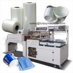 Automatic L Luva tipo POF shrink wrapping embalagem selagem a quente da máquina para Business