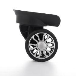 Yc rotelle nere di plastica dei bagagli della valigia da 360 gradi