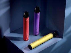 2020 Produits tendances Ce, RoHS, FAC approbation certificat E Kit vapeur Hqd Super Vape 600bouffées de cigarette électronique portable stylo jetable de tuyau de fumer