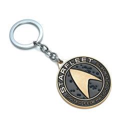 Chaîne de clés en métal promotionnels personnalisés Key Ring Cadeau souvenir