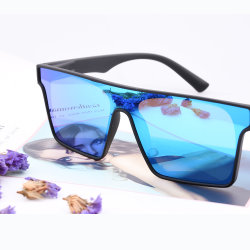 2020 La Plaza polarizada gafas de sol de marca de logotipo personalizado Rimless diseñador de gafas de sol UV400