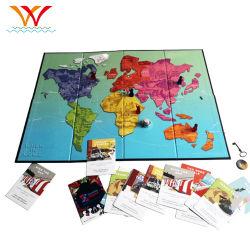 صانع ألعاب ألواح ورق خشبية فاخرة من OEM مخصص للطباعة