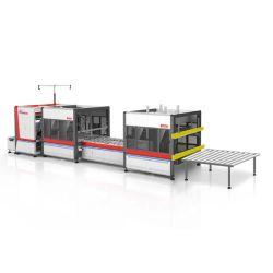 Ng-19RS colchón automático eficiente rodillo de plegado de compresión empaquetadora