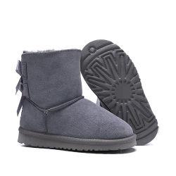 شتاء يمهّد ثلج دافئ [فشيونبل وومن] صوف [جنوين لثر] [وهيد] [لث] نسخ أحذية بالجملة يتسوّقون أسلوب إشارة أطفال جزمة حذاء كاحل جزمة