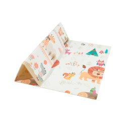 Stuoia Fordable del giocattolo del gioco del bambino del PVC dei capretti dei bambini del pavimento di ginnastica di stampa morbida infantile popolare antisdrucciolevole XPE del doppio