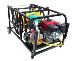 Motore pompa di alimentazione a stantuffo triplo ad alta pressione con comando a distanza Tubo flessibile