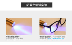 Optische Rahmen bereiten der materiellen Einspritzung-Tr90 Aktien-blaues Antilicht vor