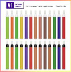 Heißeste elektronische Anfangsinstallationssätze KSD V1 Zigaretten-Frankreich-Evod plus Diposable Vape Feder 400mAh EGO