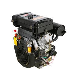 Поднимите 2V88Fe с водяным охлаждением воздуха Двойной цилиндр Twin-Cylinder дизельного двигателя