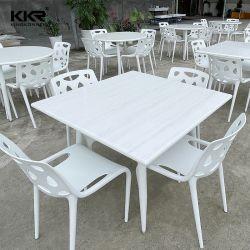 Marmor Farbe Kunstharz Stein Tischplatte Solide Oberfläche Moderne Möbel Fast Food-Tabelle