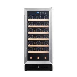 Новый дизайн современных стали вино втулки расширительного бачка радиатора холодильник вино 33-бачок винный погреб