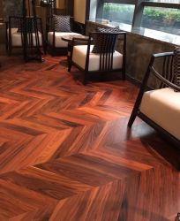 سعر جيد لخشب Rosewood Herribone البلاط الأرضيات البلاط الباركيه ل ديكور الطابق المنزلى