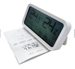 Salle intérieure Affichage LCD grand moniteur de température thermomètre digital Hygro