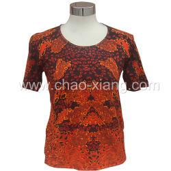 印刷(CX-MD-018S)を用いる女性の服