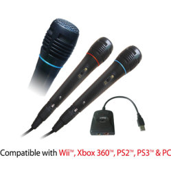 Microphone pour PS2 / / / PS3 Wii Xbox360 / PC (OS-010362)