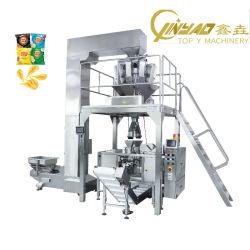 Doypack mit Reißverschluss-Beutel Automatische Lebensmittel-Multifunktions-Flow-Füllung Verpackung Verpackungsmaschine für Kartoffelchips