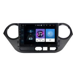 Lettore DVD intrattenimento con fotocamera riarview sistema di navigazione GPS verticale Android Per video per auto Hyundai I10 per sistemi multimediali per auto