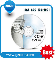 Logotipo impreso Ronc CD en blanco al por mayor de 700m 1-52X