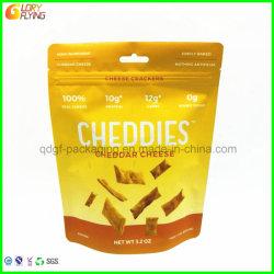 La Chine sac alimentaire permanent avec fermeture à glissière pour l'emballage du fromage
