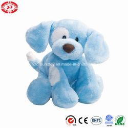 견면 벨벳에 의하여 채워진 앉는 En71 장난감이 파란 개 최고 선물에 의하여 농담을 한다