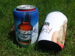 ネオプレンのStubbieの徳利立て、絶縁されたビール飲料の短い缶のクーラー(BC0075)