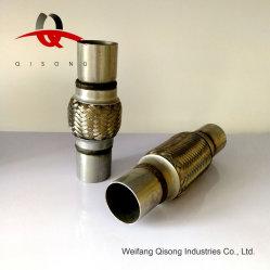 [Qisong] tubo flessibile dello scarico universale dei ricambi auto con i tubi del capezzolo
