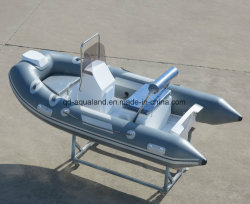 Aqualand 11feet 3.3m /Rescue/River-Bewegungsboot des Fiberglases steifes aufblasbares fischen(rib330)