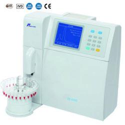 Hémoglobine automatique de Glycated d'hôpital Hba1c Analyzerr avec l'échantillonneur automatique (TH6000)