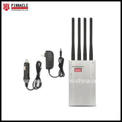 CDMA、GSM、UMTS、Dcs、Phs、PCS、3G、4G Lte、Wimax WiFi、BluetoothのGPS 5gのシグナルの妨害機を妨げるための手持ち型の8本のアンテナシグナルの妨害機
