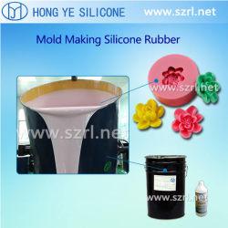 石鹸型の作成のための液体のシリコーンゴム