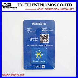 Reinigingsmachine van het Scherm van de Telefoon van Microfiber van het Embleem van het Bedrijf van de douane de Kleverige Mobiele (EP-C7182)
