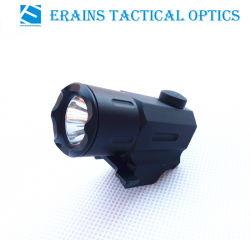 ERains Tac Optics Compact Tactical Cree Q3 100 L멘 스트로브 권총형 LED Flashlight Torch