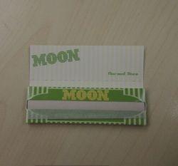 Lune de gravure de vert lent 1,0 cigarette Rolling Paper
