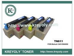 Toner di Konica-Minolta TN611 per Bizhub C451/550/650