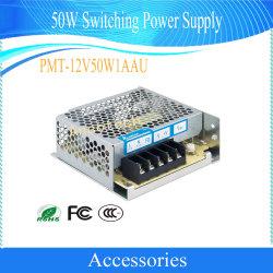 Alimentazione elettrica di commutazione degli accessori 50W del CCTV di obbligazione di Dahua (PMT-12V50W1AAU)