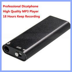 18 Horas de gravação do registrador USB de 8 GB com gravador de voz digital Slim Fino disco flash USB