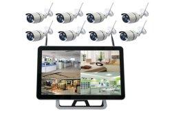 Sorveglianza esterna del sistema di obbligazione domestica del kit della macchina fotografica di WiFi della macchina fotografica del IP di visione notturna di IR NVR del CCTV del kit senza fili del sistema 1080P 8CH HD