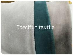 2018 высокого качества 100% полиэстер фальшивый заяц шерстяной ткани для одежды