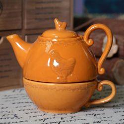 Keramisches Geschenk-Teekanne-Decklack-Teekanne-Tee-Potenziometer-Set