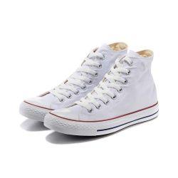 Toile unisexe Sneakers haut haut de la Dentelle de chaussures de marche occasionnelle de l'ONDULEUR