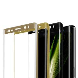 Samsungのノート8のスクリーン・フィルムのための3Dによって曲げられる端スクリーンの保護装置