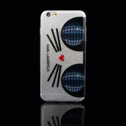iPhone 5/6/6p 用の Big Eye Kitty TPU 電話ケース