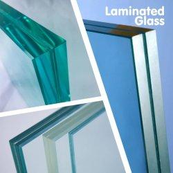 Gelamineerde de bouw maakte het Decoratieve Weerspiegelende Glas van de Veiligheid van de Bouw met Ce/SGS aan