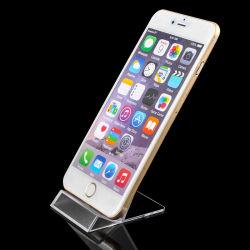 Cadeaux de promotion cellulaire Universal Desktop transparent Titulaire d'affichage du téléphone
