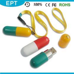 Форма таблетки флэш-накопитель USB для доктора и медсестры использует (EP006)