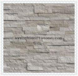La nature de marbre en bois blanc pierre de la culture de l'Ardoise pour décoration murale