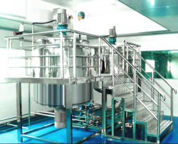 Ouvrez le couvercle du liquide de lavage mélangeur d'homogénéisation
